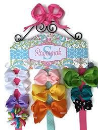 bow holder personalized hair bow holder made to match bedroom