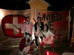 the purge halloween diy haunted house 2016 pinterest
