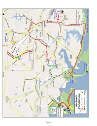 Virginia Capital Trail Map by Williamsburg Area Bike Rides Route Book