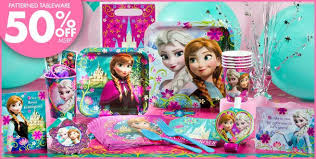 frozen party supplies 21 best catie s 7th birthday frozen theme images on