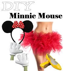 Minnie Mouse Halloween Costume Diy Diy Disney Costumes Mickey Minnie Mouse Minnie Mouse Mice
