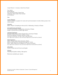 resume for highschool students going to college resume teenage cv exles toreto co how to write for teens
