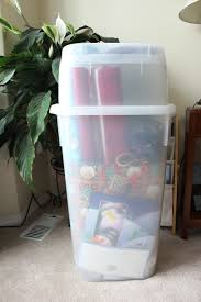 christmas wrap storage a christmas gift wrap center for an organized season