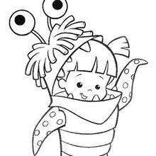 coloring page monsters inc mike wazowski and sulley coloring pages hellokids com