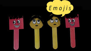 emojis smiley with ice cream sticks youtube