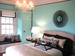 tiffany blue paint color transitional bedroom benjamin moore