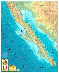 Map Of San Diego Ca Baja California Wall Map By Compart Maps