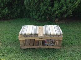 diy pallet bench with cushions pallet furniture plans