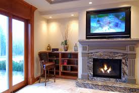 can you put tv above gas fireplace best image voixmag