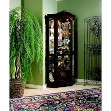 cherry corner curio cabinet medallion cherry corner curio cabinet cedar hill furniture