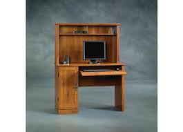 Sauder White Desk With Hutch Sauder Harvest Mill Computer Desk U0026 Hutch 404961