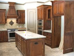 Rustic Hickory Kitchen Cabinets by Kitchens