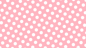 Polka Dot Wallpaper Wallpaper White Polka Dots Spots Pink Ffb6c1 Ffffff 150 124px 210px