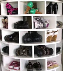 lazy susan closet shoe organizer home design ideas