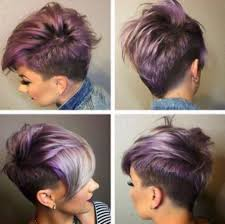 pixie haircut view shaved short hairstyle for thick hair