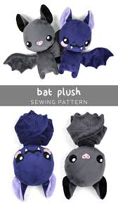 free pattern friday bat plush choly knight