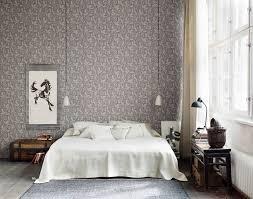 Farbe Stimmung Schlafzimmer Schöne Schlafzimmer Mit Blumentapete Design