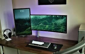 Gaming Desk Ideas Gaming Desks Pc Setup Pc And Gaming Setup