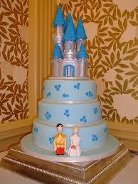 Cinderella Castle 3 Tier Wedding Cake This Wedding Cake Wa U2026 Flickr