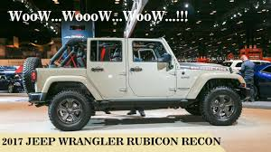 gobi jeep color 2017 look the 2017 jeep wrangler unlimited rubicon recon 4 door