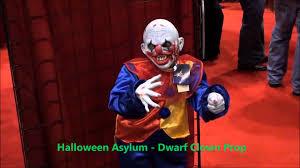 halloweenasylum com dwarf clown prop youtube