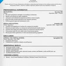 10 Great Good Resume Objectives Slebusinessresume Com - painting job description best painting 2018
