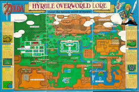 Metroid Nes Map The Legend Of Zelda A Link To The Past Feature Nintendo World