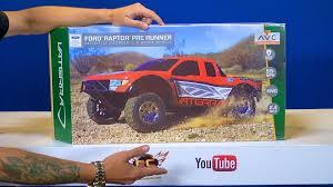 Ford Raptor Trophy Truck Kit - rc adventures unboxing a vaterra ford raptor pre runner 4wd