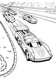 dessin de coloriage voiture de course à imprimer cp26939