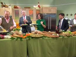 emeril s brined herb roasted turkey recipe abc news
