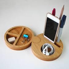Solid Oak Office Desk Round Interlocking Solid Oak Office Desk Tidy By Wood Paper
