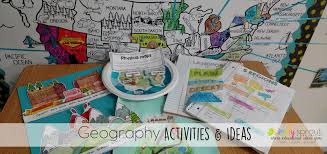 United States Map Activity by Geography Interactive Notebook U0026 Activities Simply Sprout