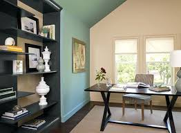 classic home office wall color tyler taupe trim accent color cloud