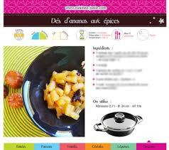 recette cuisine saine fiche recette dessert dés d ananas aux épices cuisine saine