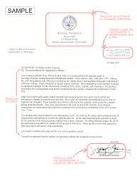 recommendation letter masters degree images letter samples format
