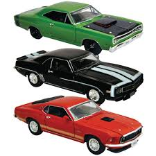 Chevy Muscle Cars - amazon com set of 3 legendary 1969 muscle car 1 32 die cast