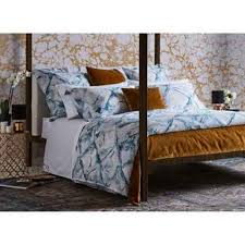 Frette Duvet Covers Frette At Home Blue Marble Duvet Cover Bed Bath U0026 Beyond