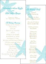 wedding programs online starfish wedding program blush paperie wedding