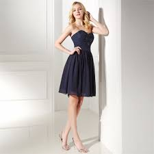 lace wedding guest dresses aliexpress buy brlmall navy blue bridesmaid dress sweetheart