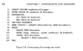exercise 7 5 1 write the triggers analogous to fi chegg com
