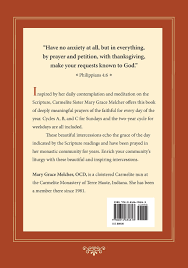 beautiful thanksgiving prayer intercessions for mass mary grace melcher ocd 9780814634813