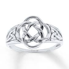 celtic rings women s celtic knot ring 14k white gold