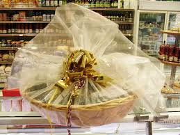 gift basket wrapping roma caffè and deli hers gift baskets