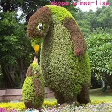 q123003 manufacturer plastic hedge artificial topiary trees