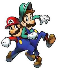 mario brothers book cartoon game characters