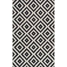 Black And White Modern Rug Modern Area Rugs Allmodern Intended For Black White Rug