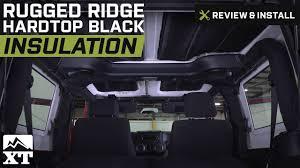jeep wrangler 2 door hardtop 2017 jeep wrangler rugged ridge hardtop black insulation 2011 2017 jk
