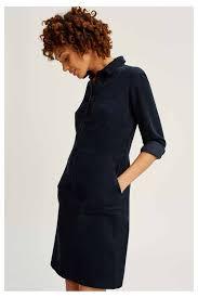dresses jaden corduroy shirt dress navy