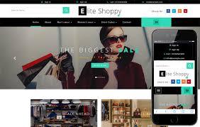 ecommerce online shopping mobile website templates