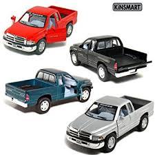 dodge ram toys amazon com set of 4 5 dodge ram truck 1 44 scale black